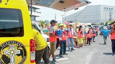 Emergency VM Disaster Response for Japan Floods