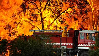 Volunteer Ministers Provide Help as FiresRage in Australia