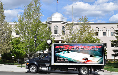CCHR provided important information on mental health to Nevada legislators and their aides by bringing its traveling exhibition on psychiatry to the capitol building.