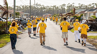 Volunteer Ministers Answer The Call For Help In The Bahamas