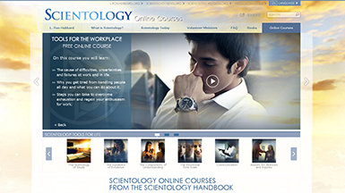 Scientology online courses—giving people the tools to handle life