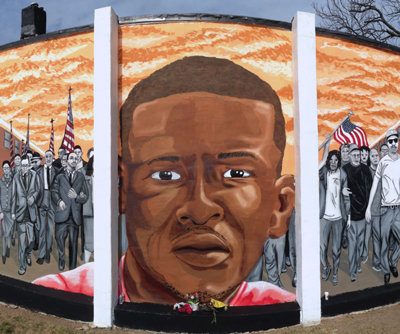 Baltimore. Freddie Gray wall