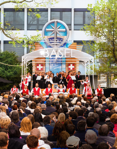 Opening ceremony of the Church of Scientology of Basel