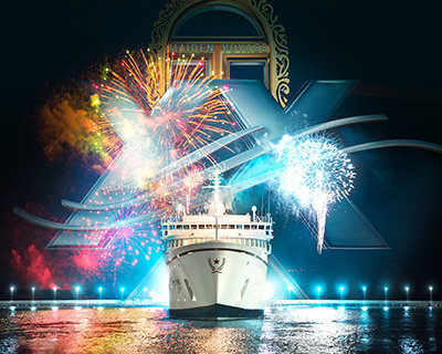 The Freewinds 30th Anniversary Maiden Voyage Celebration Jubilantly Honors 365 Days of Monumental Scientology Achievement