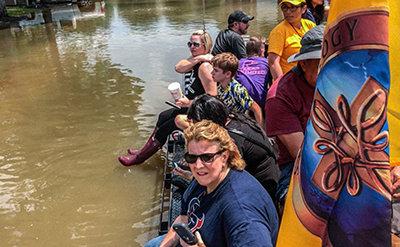 洪水の輸送
