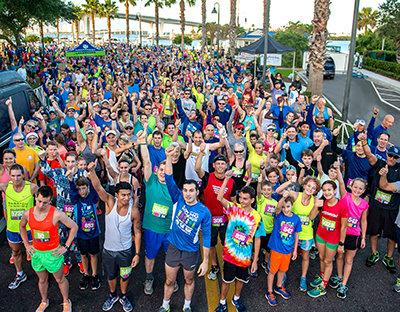 Clearwater. Coachman Park 5K run
