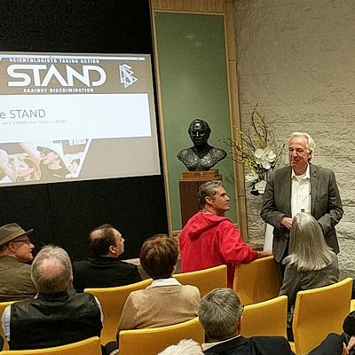 STAND's Annual Year-End Reception: A Meeting of Minds