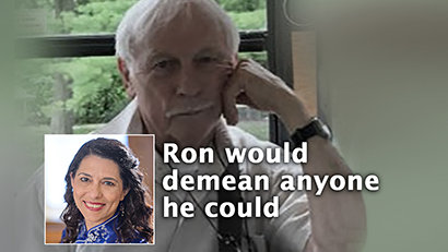 Ron Miscavige's Anti-Equality Harassment & Anti-Semitic Rants