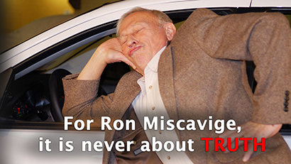 Ron Miscavige: DISHONESTY IS THE BEST POLICY