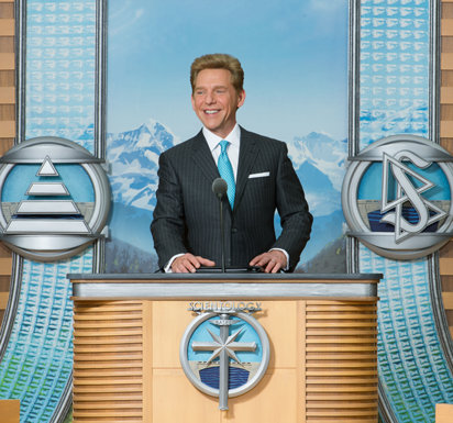 Ecclesiastical leader of Scientology Mr. David Miscavige