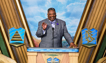 Bishop Franklin Harris, Executive Member of the Los Angeles County Clergy Council