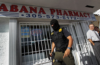 pharmacy, whose owner and employees were arrested in 2011 for selling painkillers without a prescription