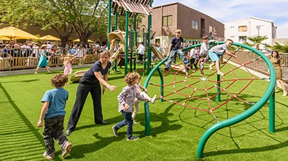 Valley Ideal Organization. A Place for Everyone. Playground