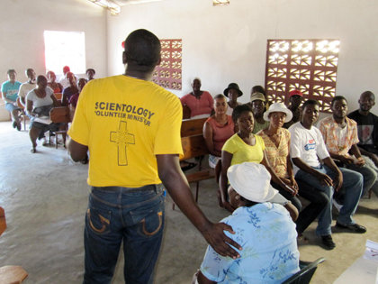 Haitians began asking VMs to teach them the techniques they use to give succor to those in need. As a result, VMs deliver upwards of 1,500 seminars each week.