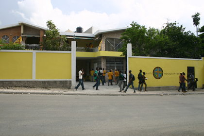 The new 3-story Volunteer Minister house in Haiti allows secure and efficient delivery of help to the Haitian population.