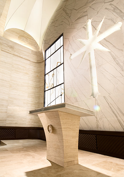 Flag Building chapel