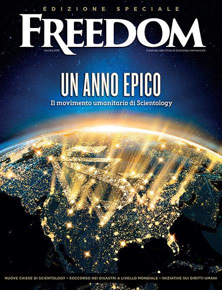 Un anno epico: il movimento umanitario di Scientology