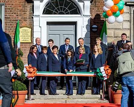 Ireland National Office opening