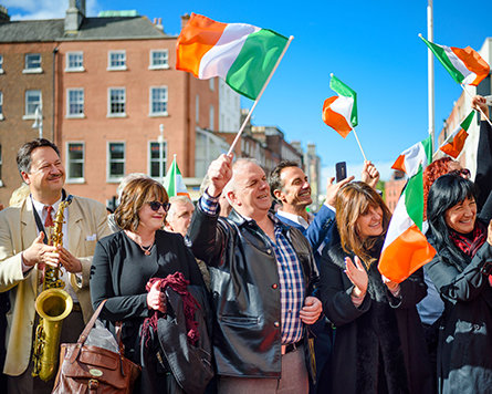 Inauguration du bureau national de l'Irlande