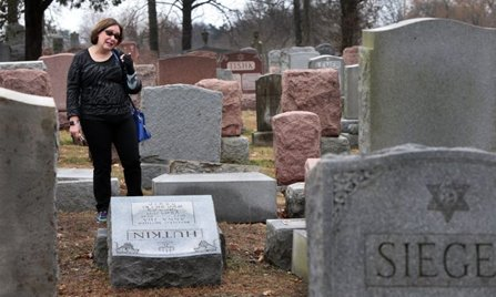 St. Louis Jewish cemetery vandalized