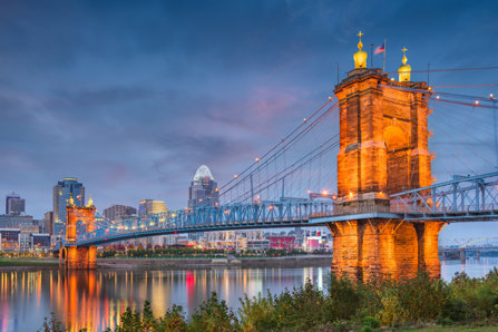 Cincinnati, Ohio is located in the Ohio River Valley, one of the country's hardest-hit regions.