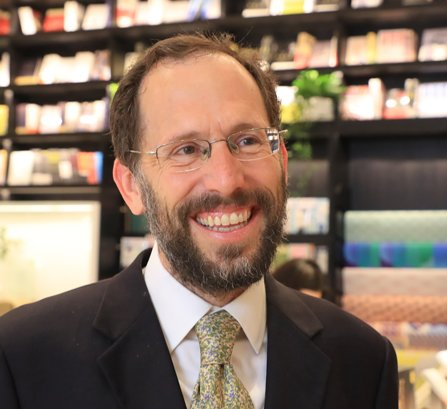 Rabbi Yakov Nagen, Founding Director of Blickle Institute for Interfaith Dialogue (photo by Chen Quan-Lin)