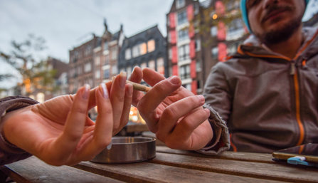 Weed Tourists in Amsterdam
