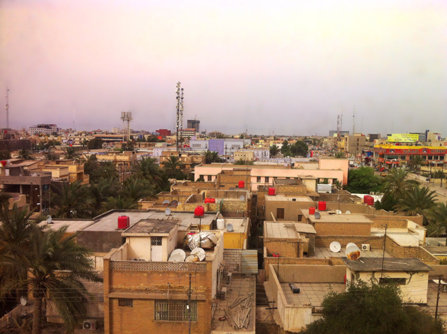 Basra city, Iraq