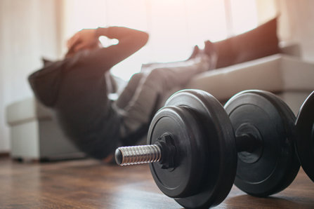 Resistance training at home