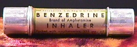 A benzedrine inhaler that began some people's addictions.