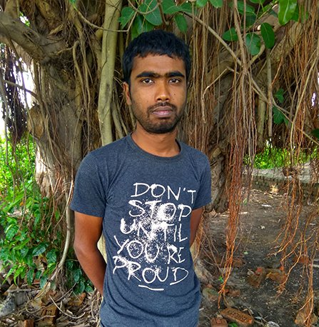 Asaduzzaman Sajib, a 26-year-old Muslim entrepreneur and the first certified Volunteer Minister of Bangladesh
