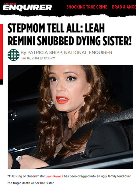leah-remini-national-enquirer-snubbed-sister