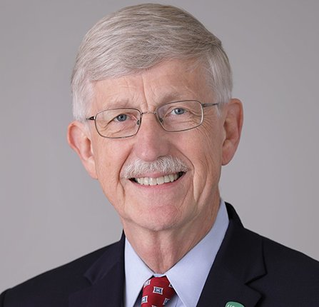 Francis Collins, Director of the National Institutes of Health (official photo)