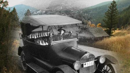 Ein Automobilabenteuer