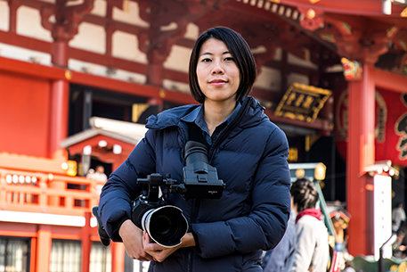 Kameramann von Scientology Media Productions