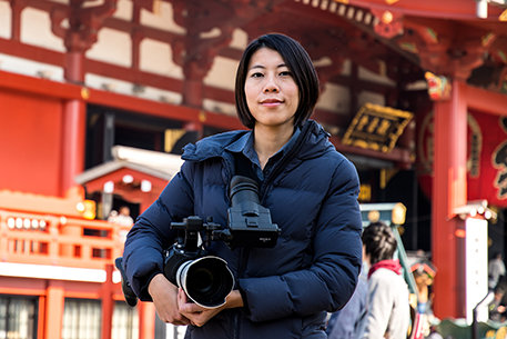 Scientology Media Productions Cameraman