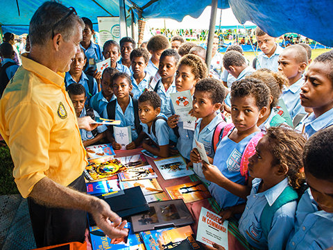 Fijis öar välkomnar frivilligpastorer precisitid