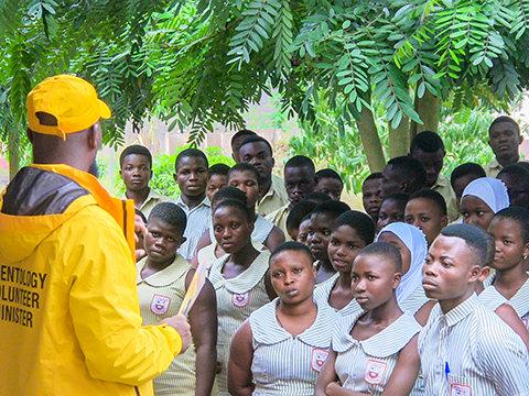 ガーナの次世代のために未来を築く