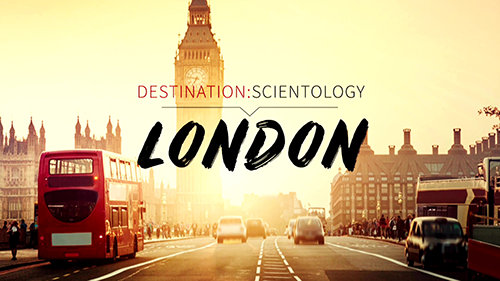 Destination: Scientology. Londen