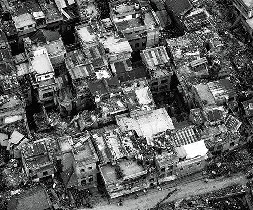 ネパールでの壊滅的な地震