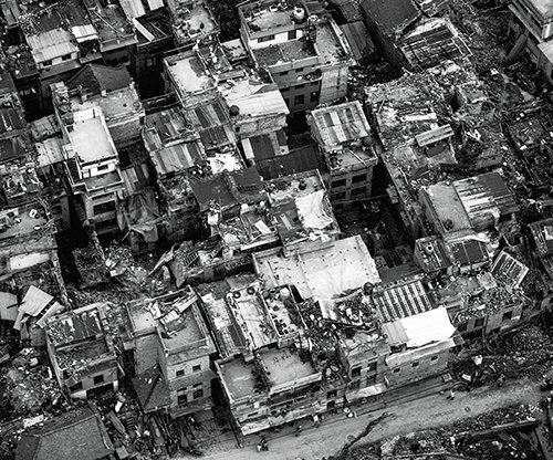 Verwoestende aardbeving in Nepal