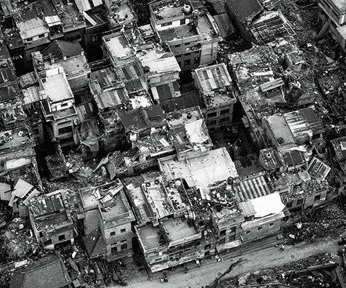 尼泊爾毀滅性的大地震