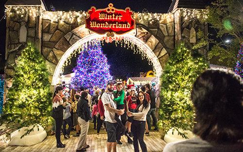 Scientology is a community. Winter Wonderland.