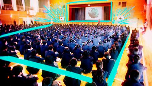 Scientology Media Productions. VFX voorbeeld