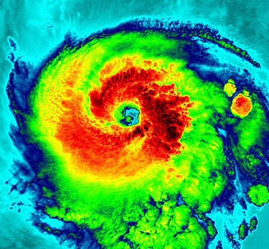 Hurricane Irma hits Tampa Bay Area