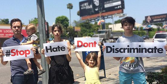 Stop Discrimination Leah Remini
