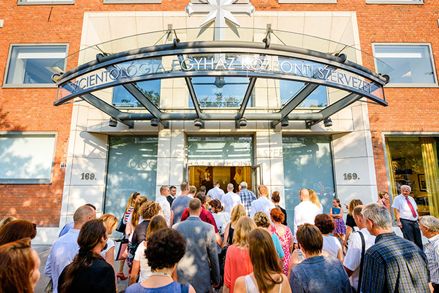 Church of Scientology Budapest entrance