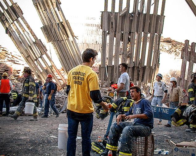 September 11, 2001. Terrorist Attack New York City
