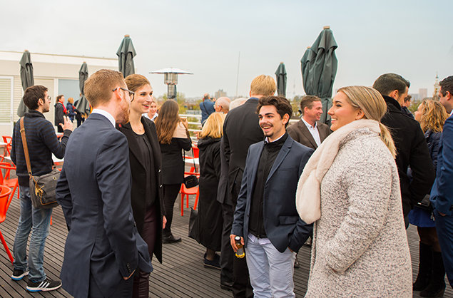 Scientology Kyrkan i Amsterdam. Rundtur