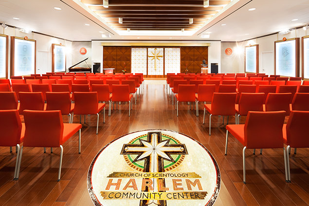 Chapel of the Church of Scientology in Harlem